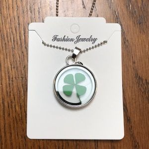 Women's lucky charm necklace